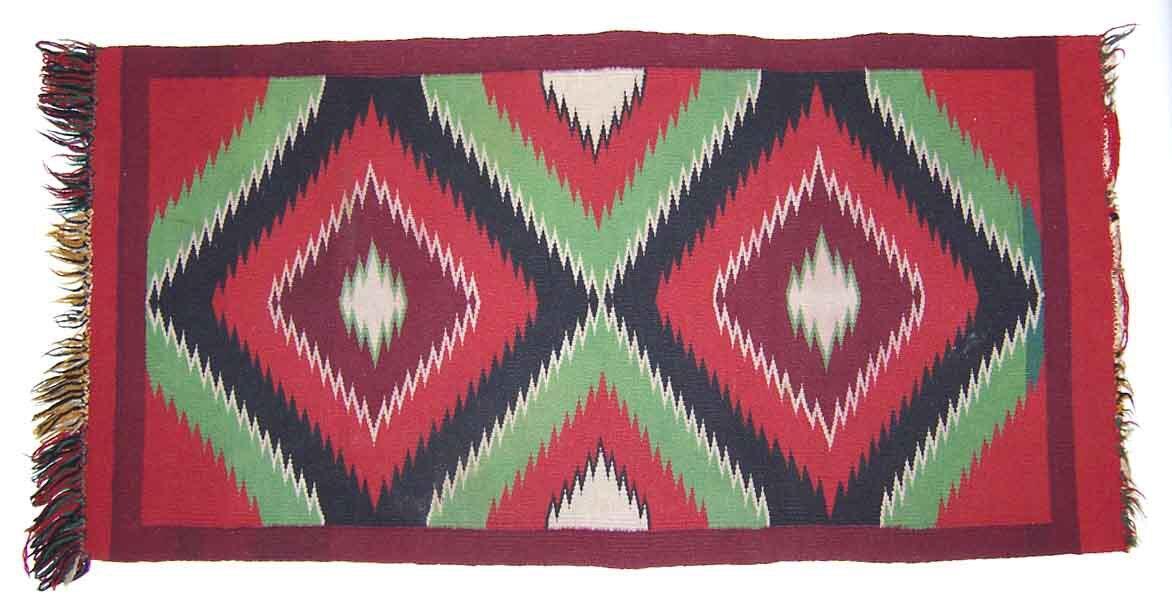 Navajo rug designs for kids Hang Gilcrease Museum Navajo Rug With Fringe Native American Navajo Gilcrease Museum