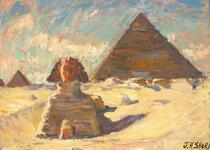 The Sphinx and the Pyramid of the Chiefs