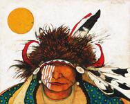 Snapping Turtle - Crow Indian Man