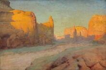 Canyon de Chelley [sic], Arizona Navajo