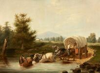 Crossing the Ferry, 1846