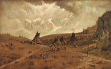 Sitting Bull's Camp, Big Horn Mountains