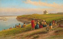 The Fire Canoe, Fort Berthold