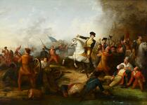 Washington at the Battle of Princeton January 3, 1777