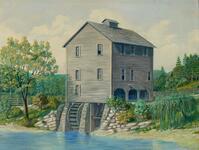 Beck Mill, Near Flint, 1838