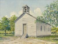 Park Hill Church and School, l870