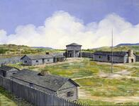 Old Fort Arbuckle, Near Tulsa, 1834