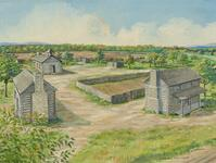 New Springplace, Moravian Mission, Near Oaks