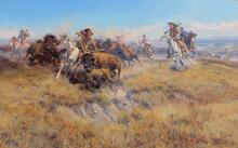Running Buffalo