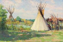 Crow Summer Tipis and Brush Shade