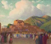 The Sunset Dance, Taos