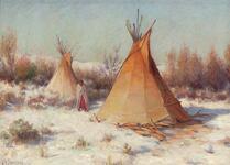 Cheyenne Teepees - Lame Deer, Montana