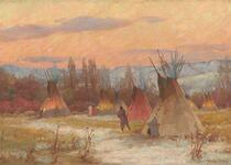 Crow Camp at Evening