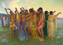 Tobacco Dance of the Plains Indians