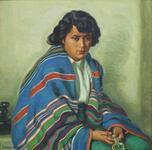 Crucita Samora or Taos Indian Maiden