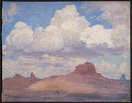 Gathering Clouds at Kayenta, Arizona