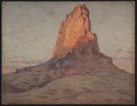 El Capitan at Sunset, Kayenta, Arizona