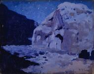 Moonlight, First Mesa, Hopi Reservation