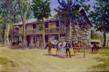 Robber's Roost Near Virginia City, Montana - Well Known Outlaw Rendezvous