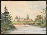 View of Victoria in 1846
