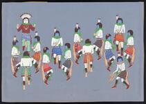 Navaho Ye-Be-Chai Dancers