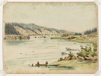 Falls of the Willamette on the Columbia River