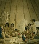 Canadian Indians and Artist