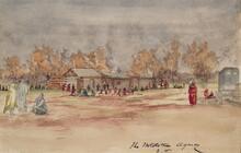 Wichita Agency, Indian Territory in 1869