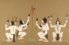 Creek Indian Ceremonial Dance