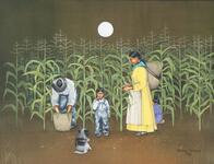 Gathering Corn