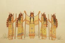 Womens Buffalo Dance