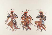 Three Dancing Pottowatomi