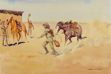 Changing Horses (Pony Express)