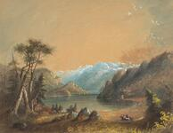 Lake Scene, Wind River Mountains