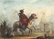 Snake Indian, Returning with Game