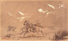 War Path - Battle of Sioux Indians