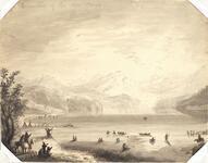 Departure of the War Canoe