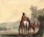 River Eau Sucre-Indian Women