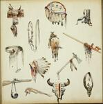 Sketches of Western & Indian Items