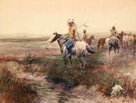 Blackfeet Horse Thieves
