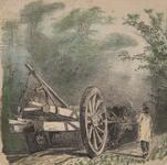 Wagon and Man