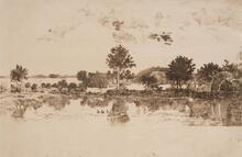 Landscape after Daubigny