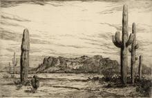 Superstition Mountain-Ariz.