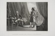 Interview between General Jackson and Weatherford