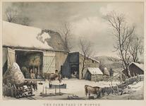 The Farm Yard in Winter