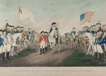 Surrender of Lord Cornwalls at Yorktown Va.Oct. 19th 1781.