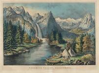 Yosemite Valley - California, The Bridal Veil Fall
