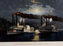 A Midnight Race on the Mississippi