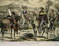 Hacendado y Su Mayordomo - Vista General de Jalapa