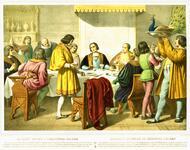 """""""Banquet Offert A Christophe Colomb"""" """"Banquete En Honor De Cristoval Colomb"""""""